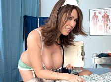 Nurse Kianna Will Drain You Dry Now